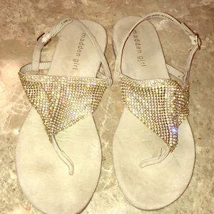 Madden Rhinestone Sandals